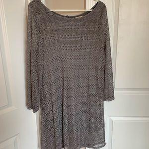 Lucky brand Grey dress
